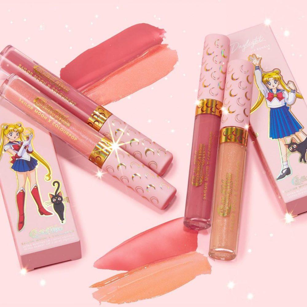 我要代替月亮懲罰你!『Colourpop x 美少女戰士』聯名彩妝來了,夢幻閃亮組合超可愛!
