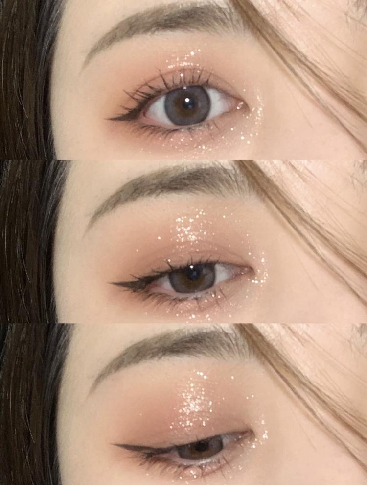 銀河般的透明光澤!超爆閃『香檳碎鑽眼影』,用了它瞬間讓眼妝更高級2倍啊~