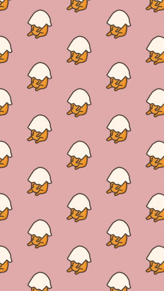 「好懶喔~不想動~」15張精選蛋黃哥療癒系手機桌布 我就要當日常小廢物!