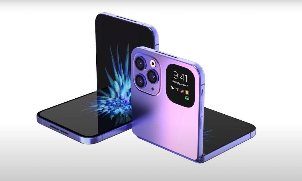 蘋果又出新機!預計2022年上市「iphone 折疊機」問世 果粉錢包不保啦!