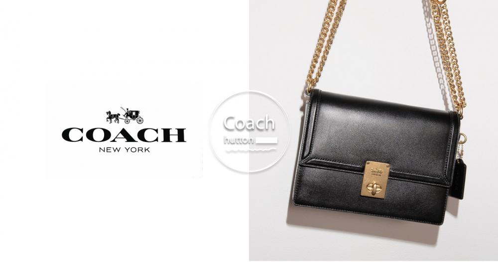 價格超友善!小資女也能買的Coach hutton小方包,上班、約會實用百搭!