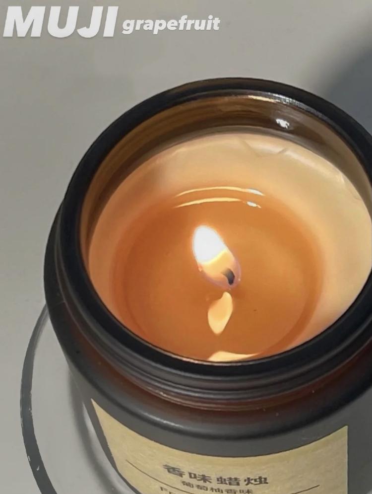 MUJI無印良品『文青香氛蠟燭&居家擴香』,花小錢就能提升品味!