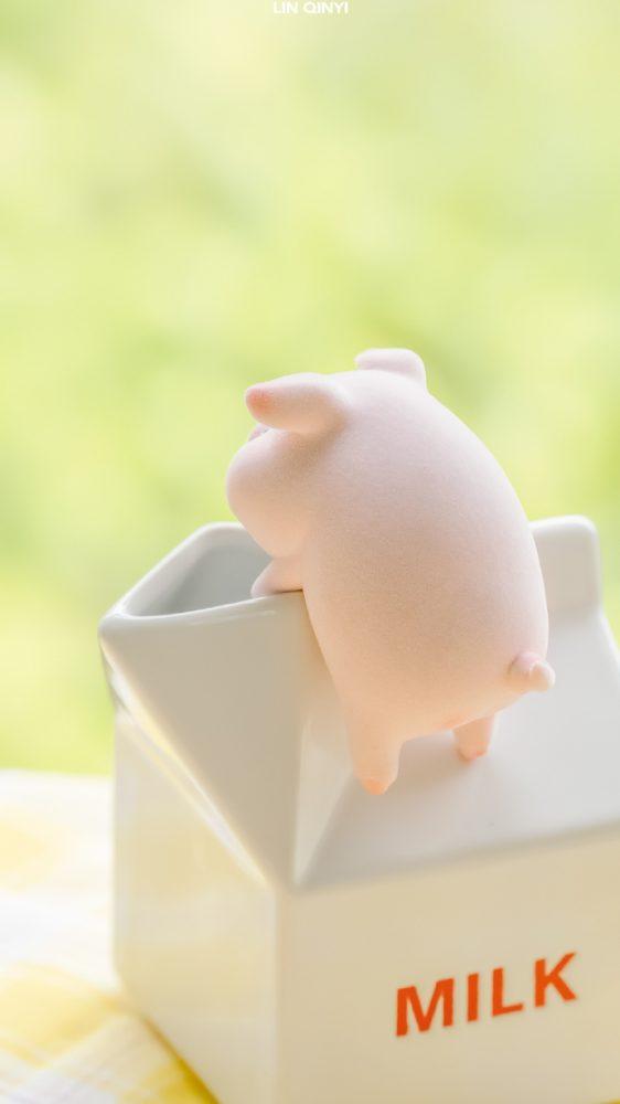 豬你天天開心!私藏24張萌系「LULU豬手機桌布」