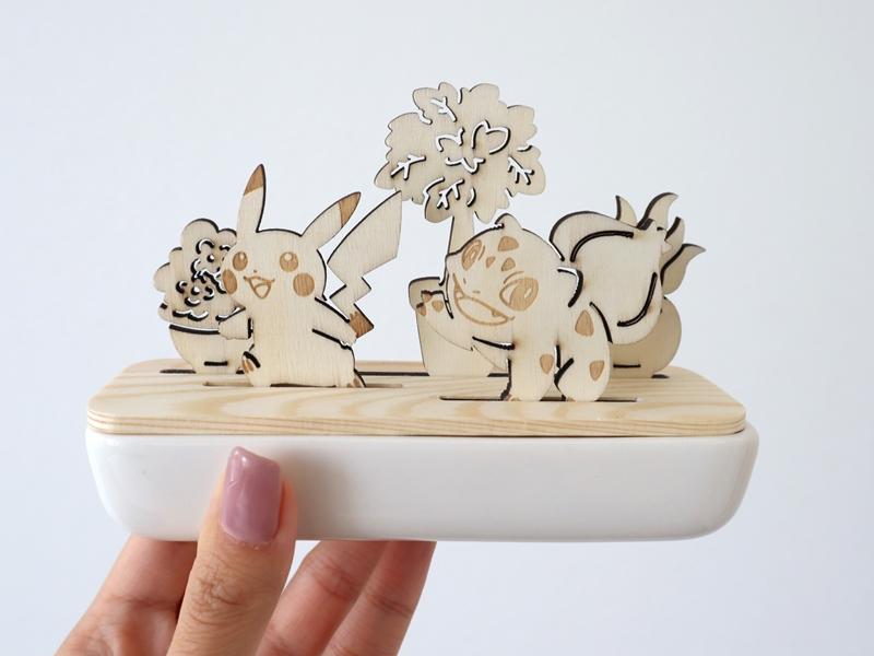 傑尼龜幫忙澆花!日本寶可夢推出療癒系園藝小物,激萌「草系盆栽」引熱議