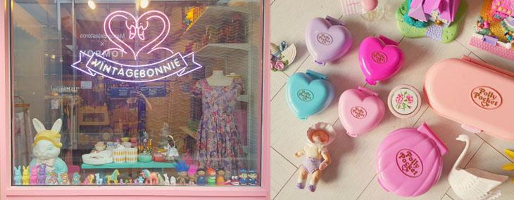 少女系古董無國界!在古董雜貨鋪Vintage Bonnie裡發現台韓共同的童年回憶