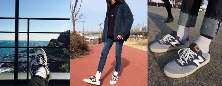 韓妞們全新至愛NB CRT300,經典復古鞋款再次席捲穿搭達人們的腳兒