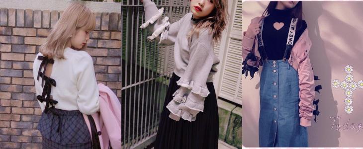 甜到牙痛!日本服飾品牌HONEY MI HONEY的甜美風格就像甜點一樣讓人無法抗拒!