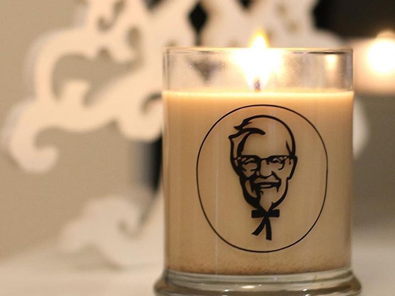 KFC真的很威猛,從指甲油到防曬乳,這次竟然還有炸雞蠟燭香氛!