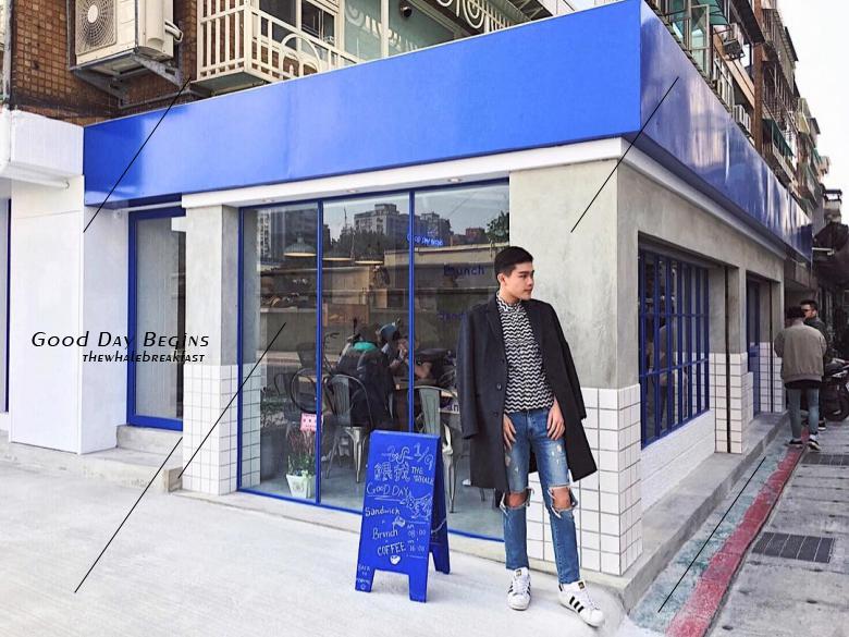 台灣的店越來越厲害了!這間藍藍的『餵我早餐』準備洗版 instagram,假日快約吧!