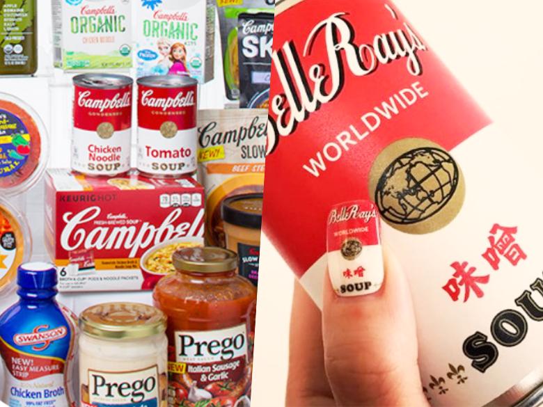 日本超有趣指甲貼設計,各國代表罐頭登場!台灣的OO中選啦!