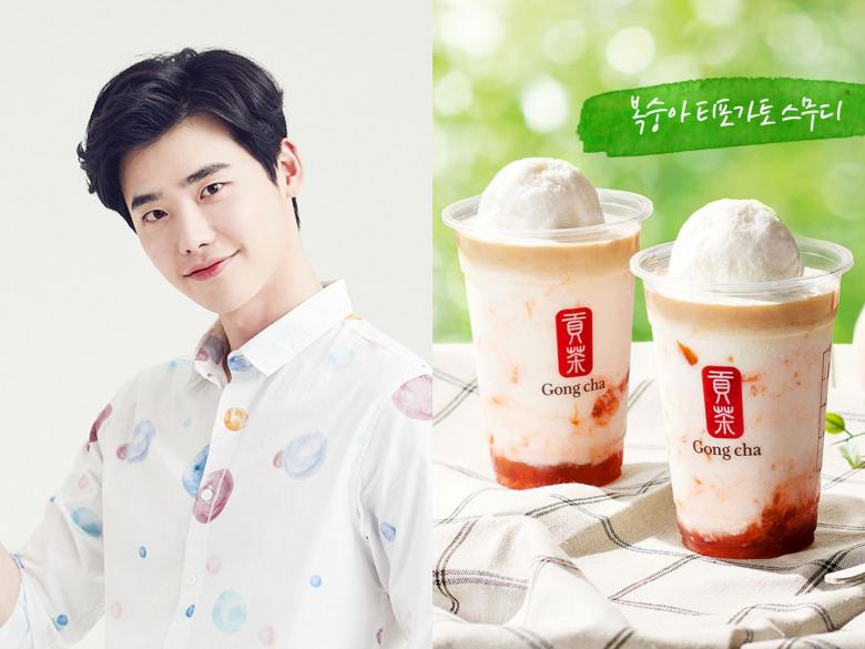 鐘碩歐爸對你喊話,還能不喝嗎?韓國貢茶推出四款「漸層」好拍新品啊!