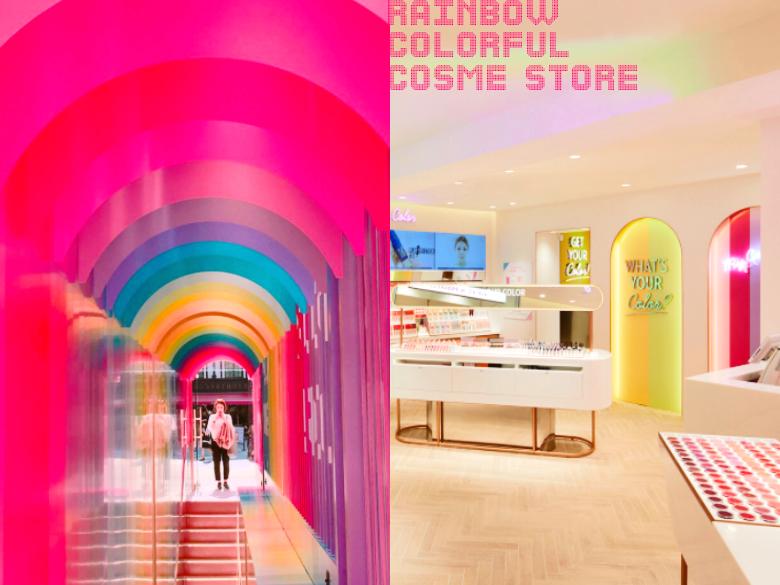 新沙洞新店朝聖!路過無法忽視的全新概念門市Color Factory彩色登場,自己的美麗自己搭