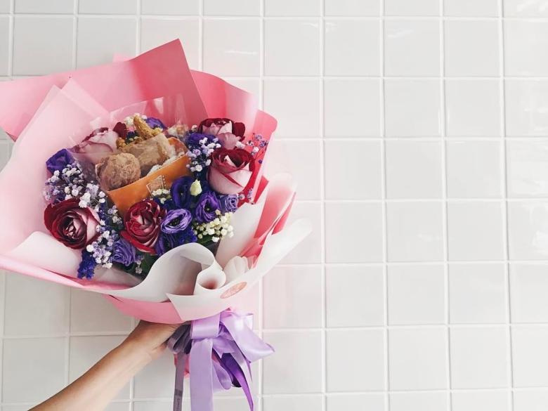 今年畢業典禮送我門口賣的花就絕交!拜託送我這些好吃又好看的「花」啦~
