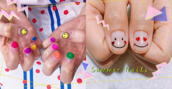 快筆記這幾個夏日元素!韓妞正在瘋的俏皮指彩,讓你從指尖開始可愛~