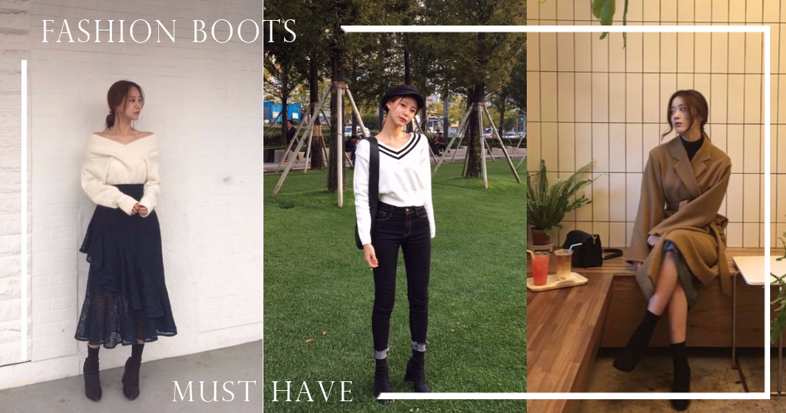 「襪靴」強勢回歸,沒穿過依然被美照燒到!今年秋冬再不擁有一雙就真的OUT OF FASHION啦