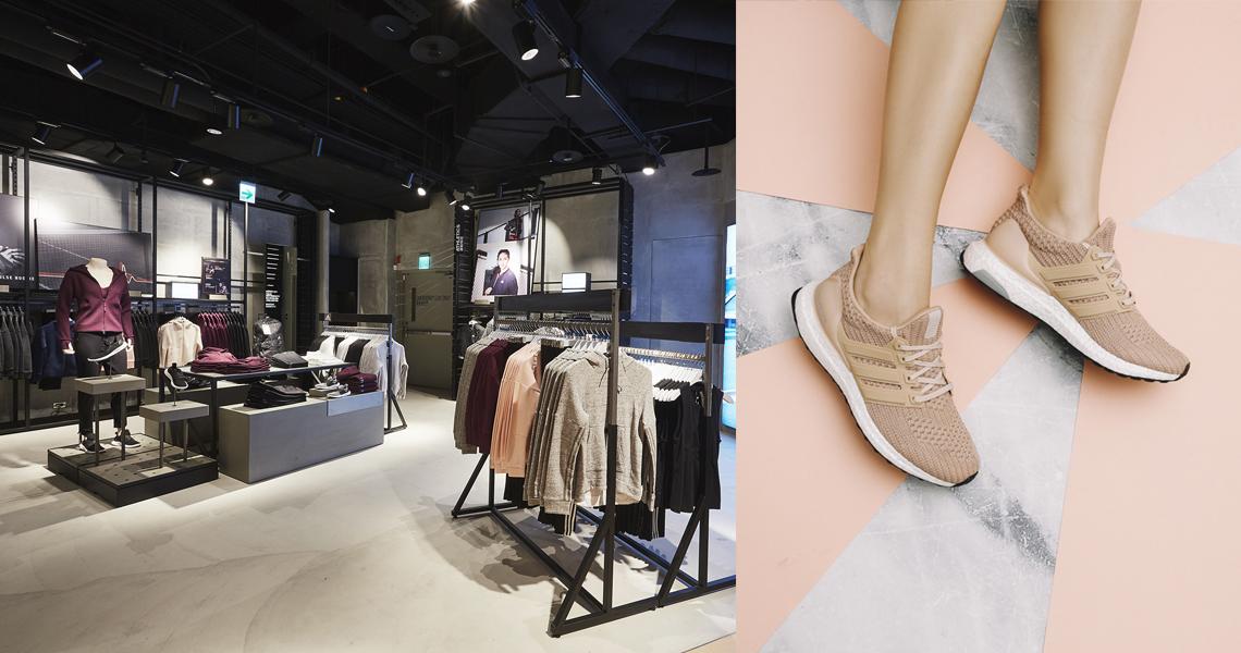 全台唯一mi adidas鞋款客製化系統只在 adidas 台北101門市,12月15日全新開幕!