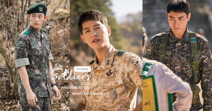 童顏外表下竟隱藏著結實的身材!這幾部韓劇影的「軍人們」通通幫我打包,感恩~