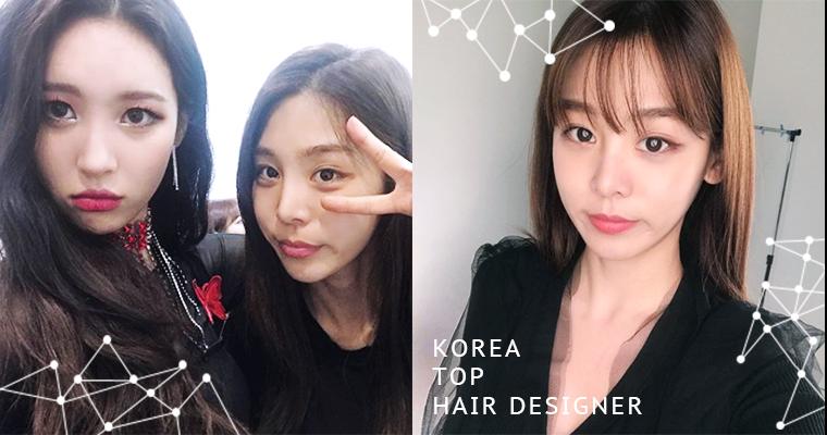 韓星的髮型小撇步都在這,善美&所炫的髮型師歐逆親自示範,瀏海塌頭通通有解!