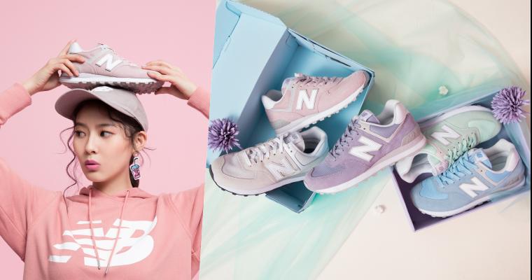 打造專屬的女性魅力!全新New Balance 574 Woman Essential系列,用色彩釋放甜美外表下的獨立靈魂,成為街頭上眾所注目的焦點!