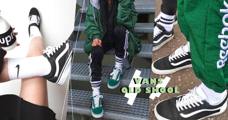姊穿的不是鞋,穿的是態度!人腳一雙Vans Old Skool帶妳帥出新高度!